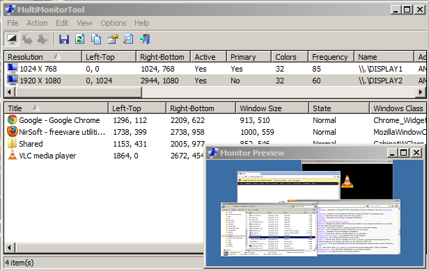MultiMonitorTool 64-bit 1.86 full