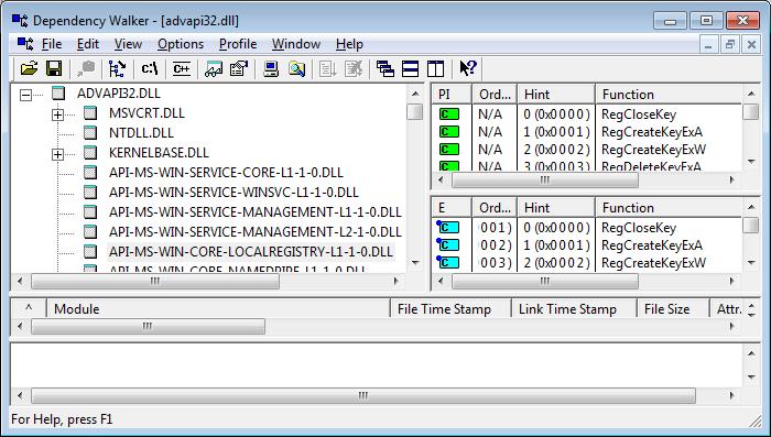 Windows 7 Kernel Architecture Changes - api-ms-win-core files